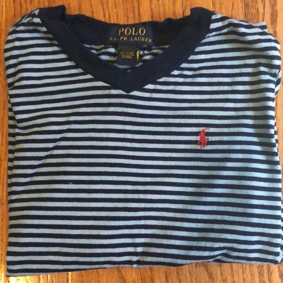 T V Ralph Boys Lauren Shirt Polo Neck L5A4Rj